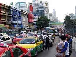 traffic jam essay