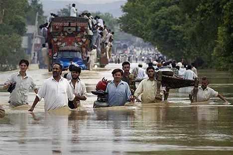 Natural disaster damages