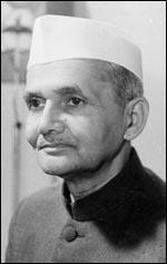 Prime Minister of India - Lal Bahadur Shastri